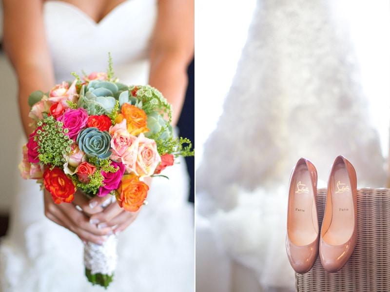 santa barbara diy wedding bouquet