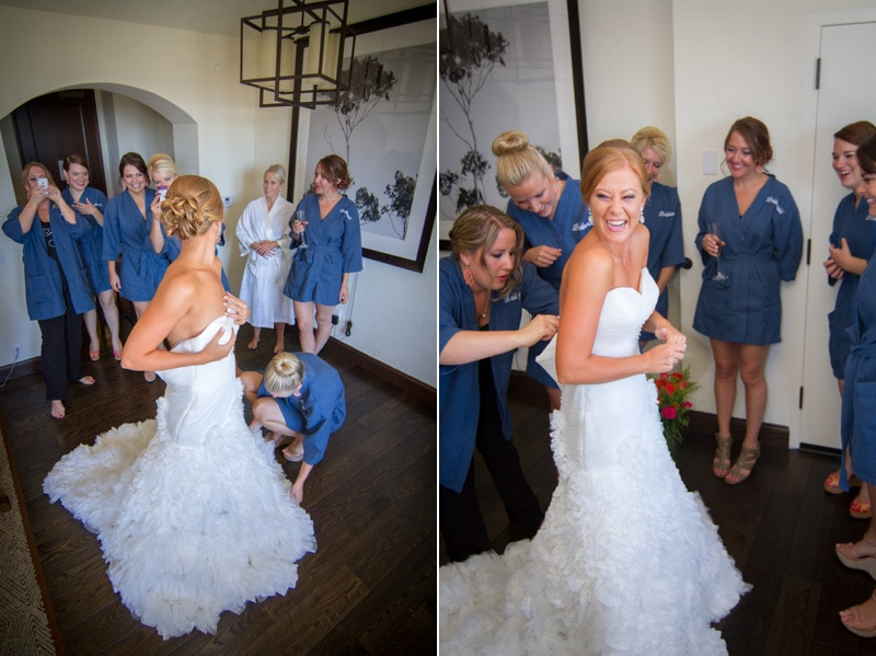 santa barbara bride preparation