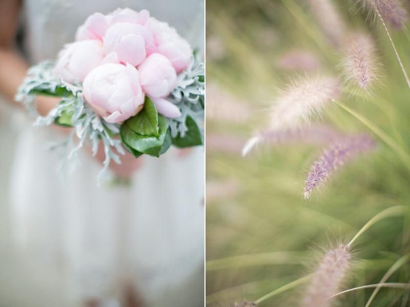 Bridal bouquet for a Summerland elopement.