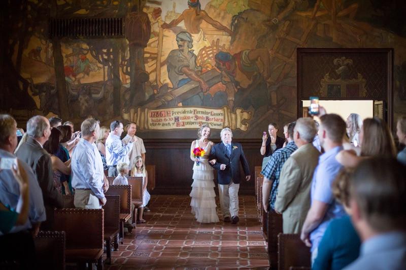 Santa barbara courthouse wedding archives kiel rucker for Mural room santa barbara