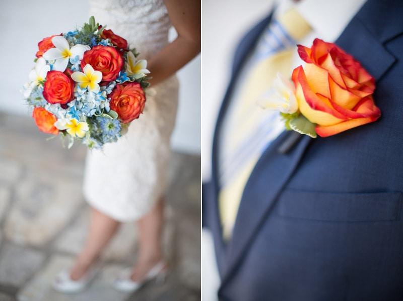custom florals for a Classy Santa Barbara elopement.