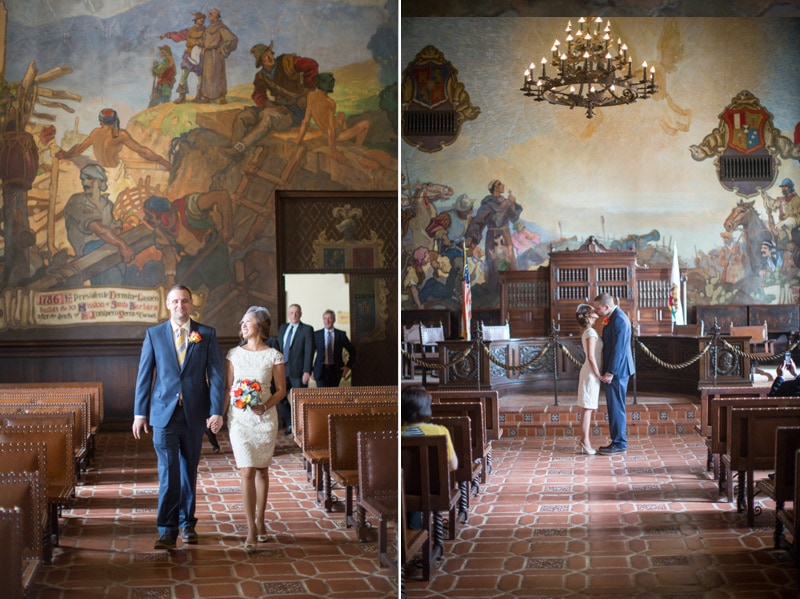 Classy santa barbara elopement kiel rucker photography for Mural room santa barbara