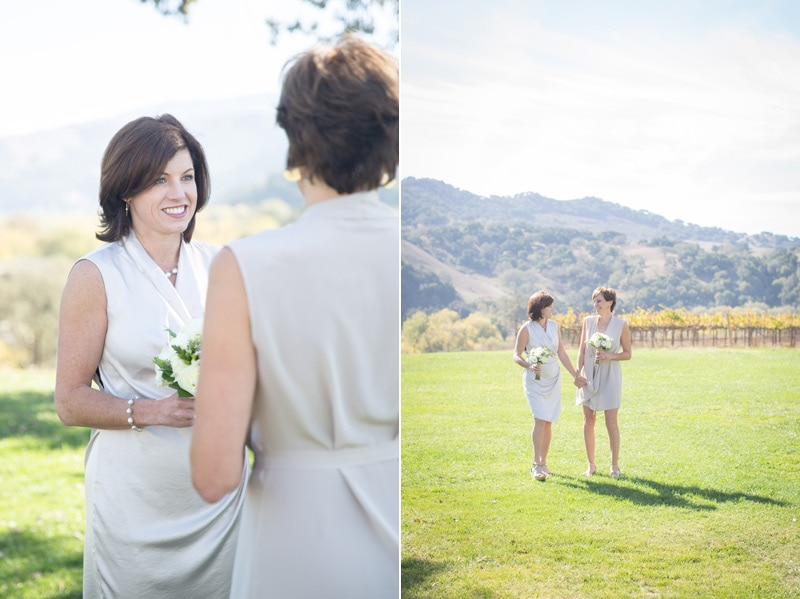Winter elopement at Sunstone Villa.