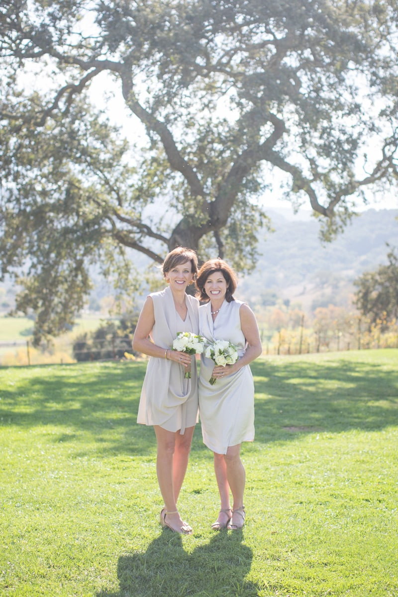 Newlyweds after their Winter elopement at Sunstone Villa in Santa Ynez.