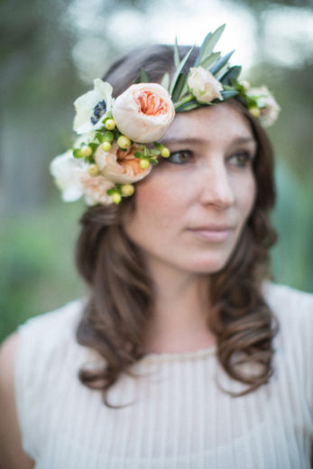 Wedding Photographers Santa Barbara • Flower Crown
