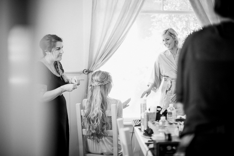 Bridal Preparation | Tres Sabores Wedding photographer, Napa California