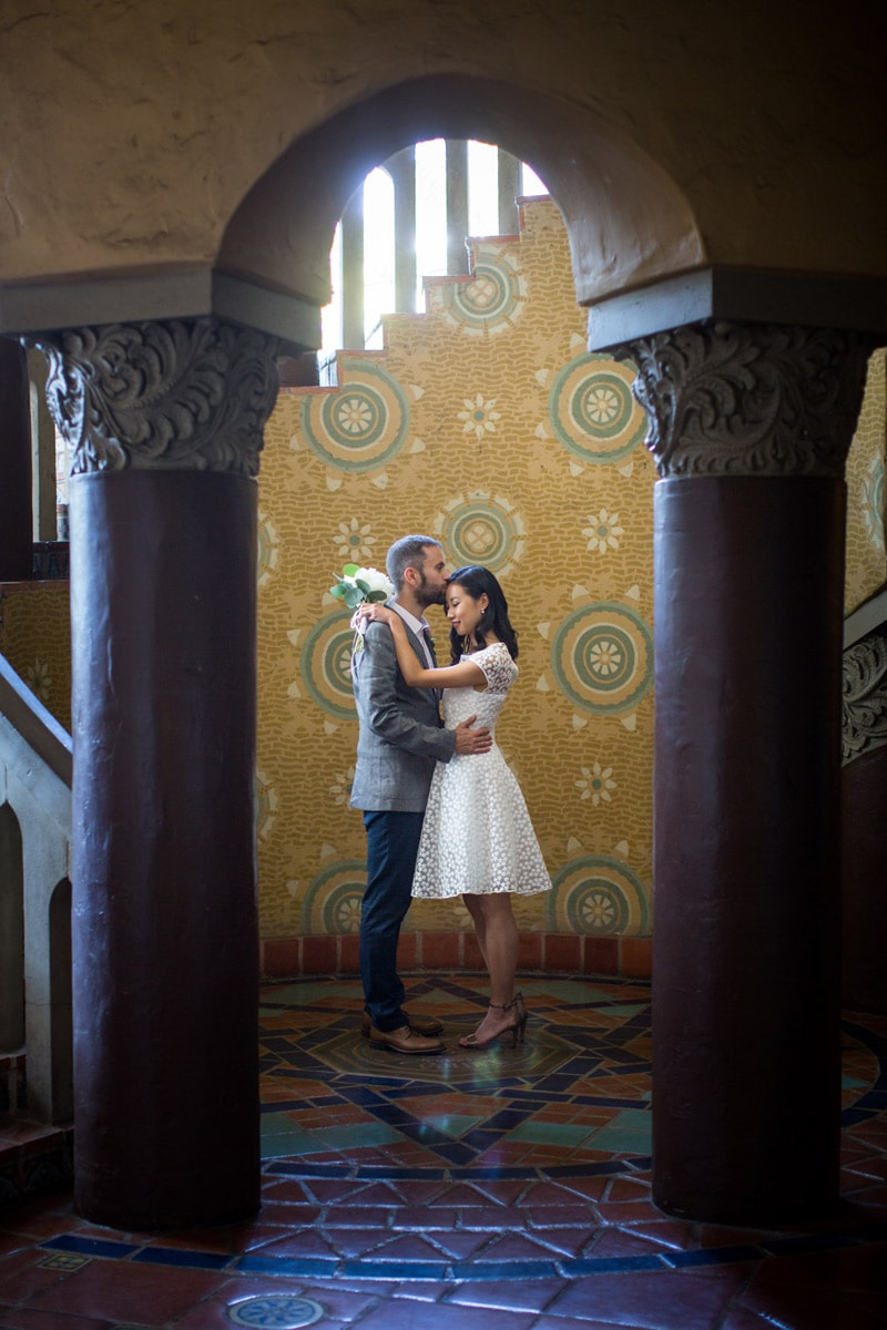 Summer Courthouse Elopement in Santa Barbara