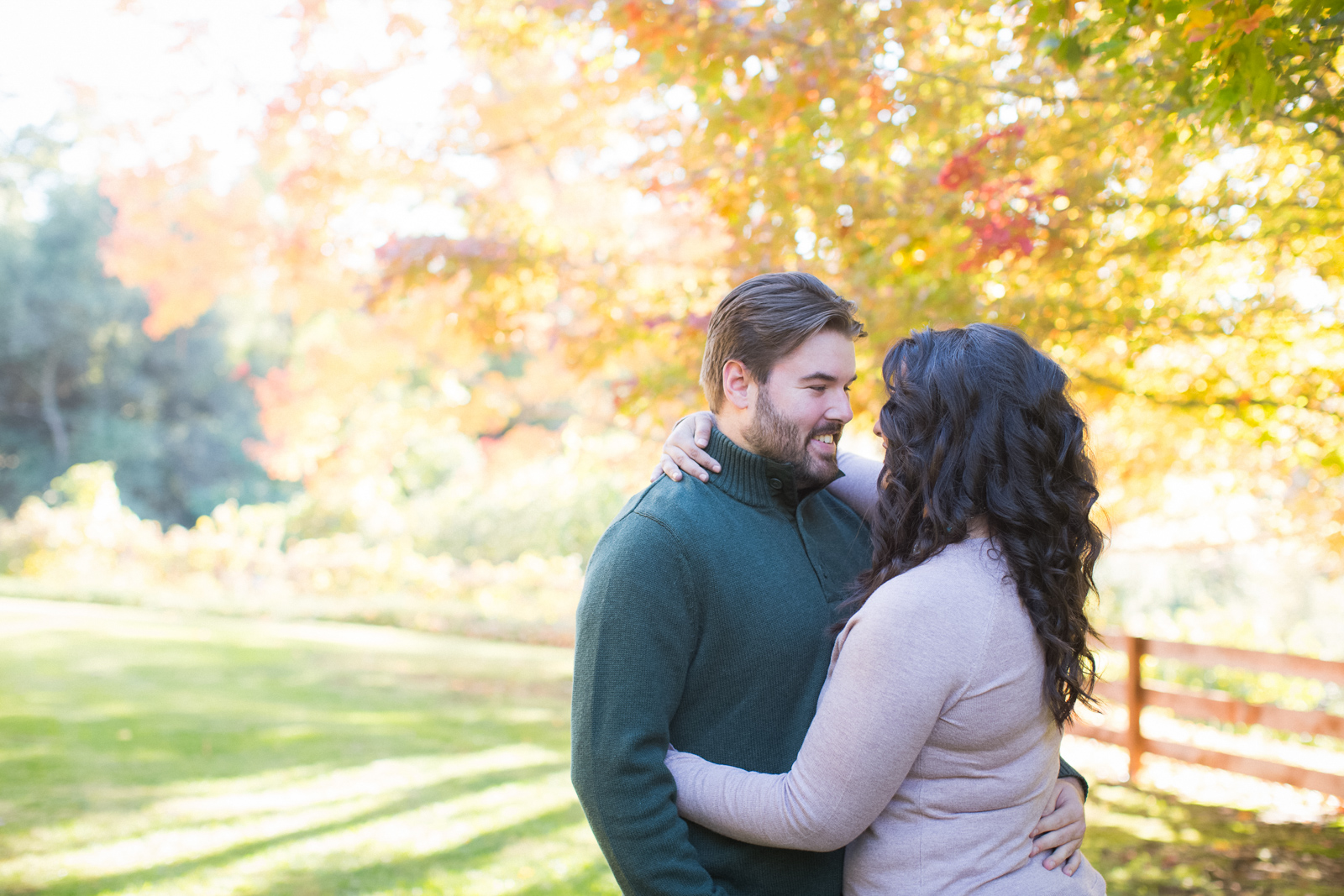 Fall Murphys Ranch engagement session