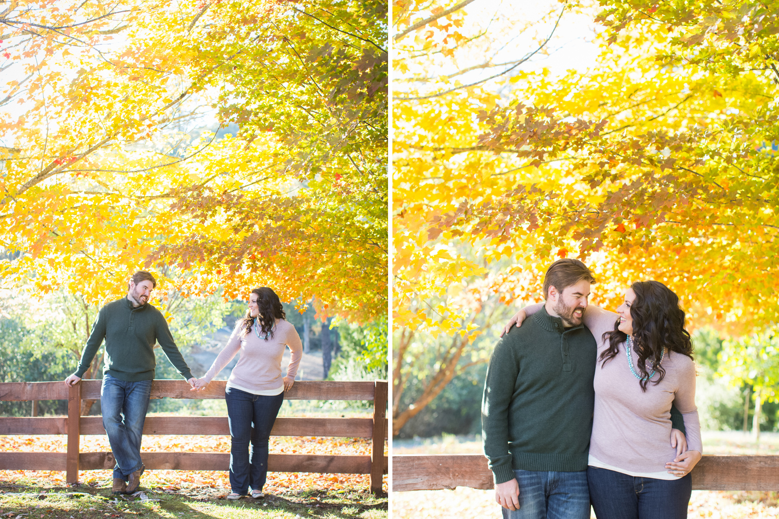 Golden, Fall Ranch engagement session in Calaveras county