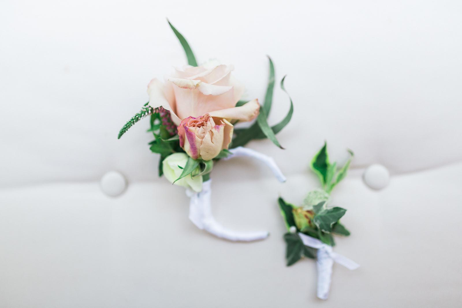 Floral decor for a gay wedding in Santa Barbara