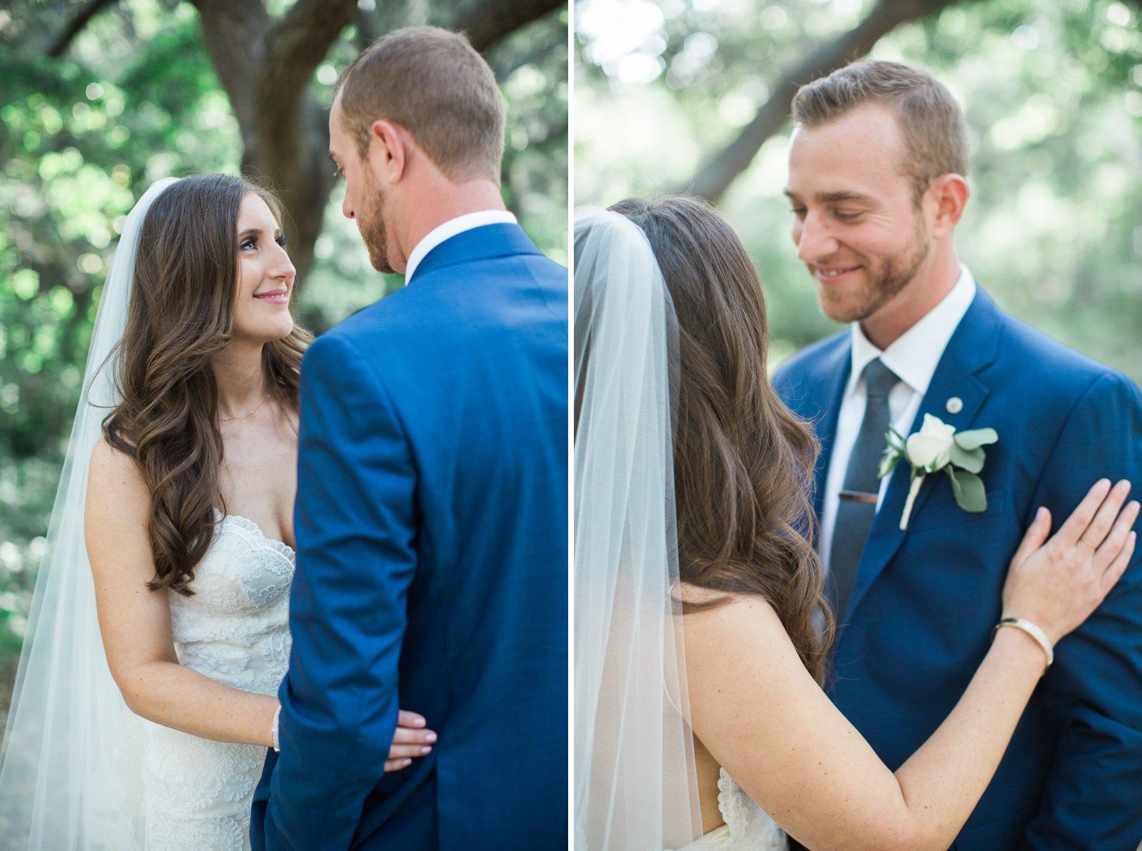 Newlyweds after their Santa Barbara Riviera Wedding