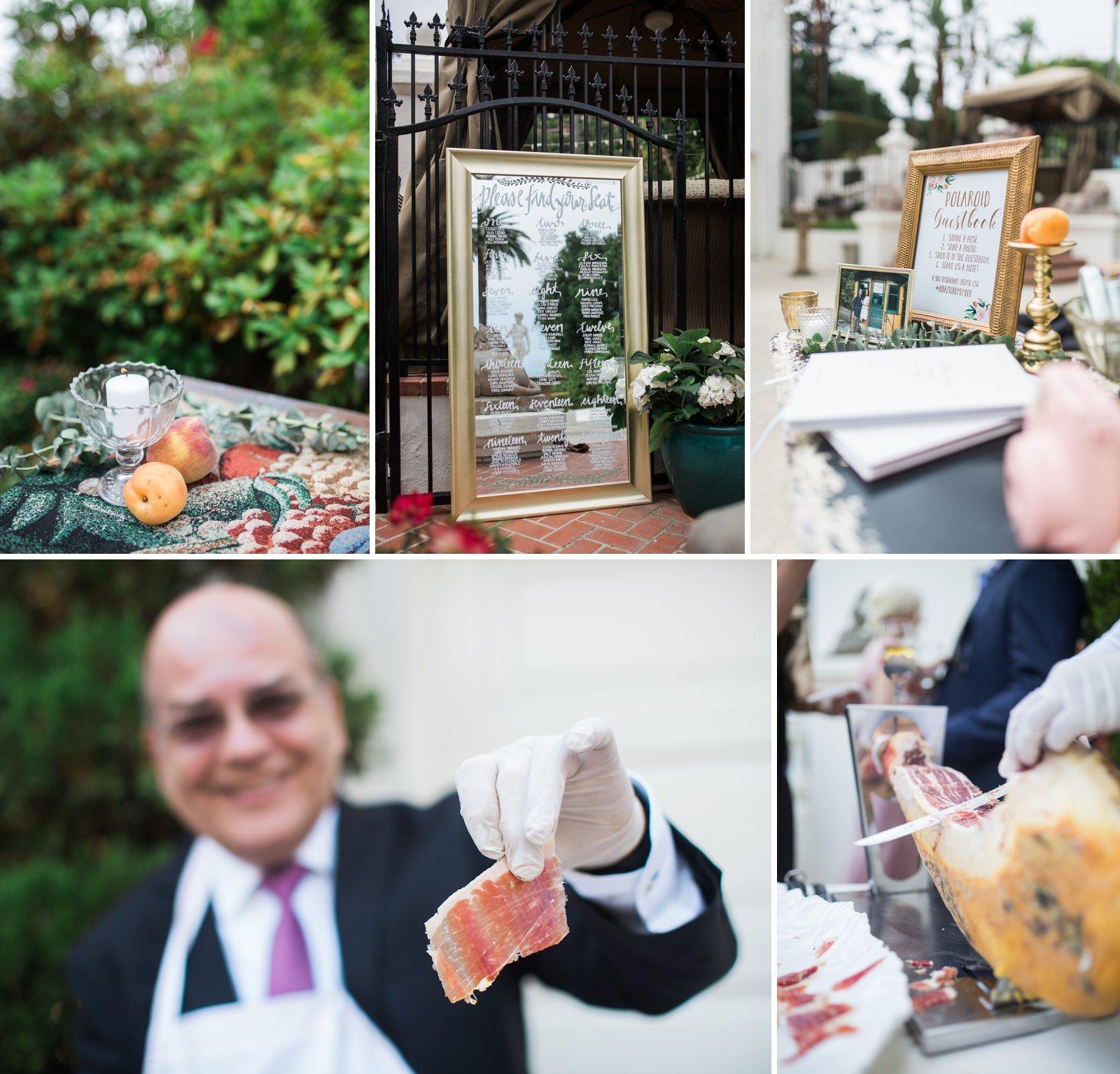 Northern Italian vibes for this Santa Barbara Riviera Wedding