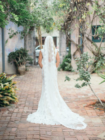 Santa Barbara Historical Museum Wedding | Bride