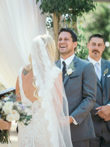 Santa Barbara Historical Museum Wedding | Bride & Groom