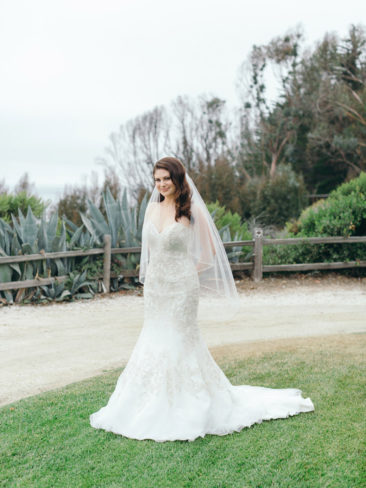 Elegant Bacara Bluffs Elopement | Elegant Bride