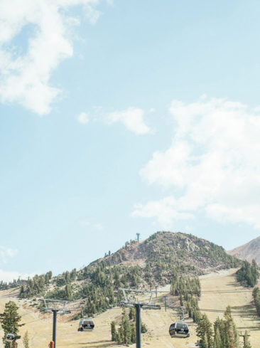 Mammoth Mountain Wedding | Gondolas in the Summer