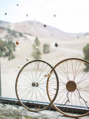Mammoth Mountain Wedding | Rustic Cyclist Elements