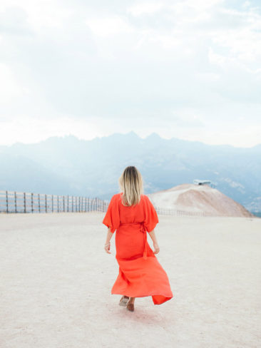 Mammoth Mountain Wedding | Girl in The Red Dress