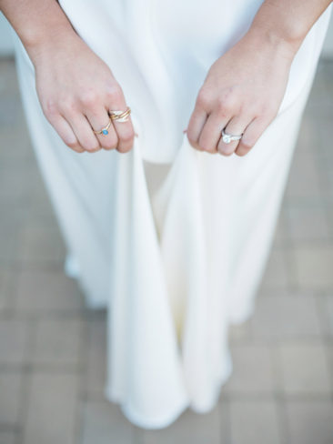 Santa Barbara Zoo Wedding | Bridal jewelry