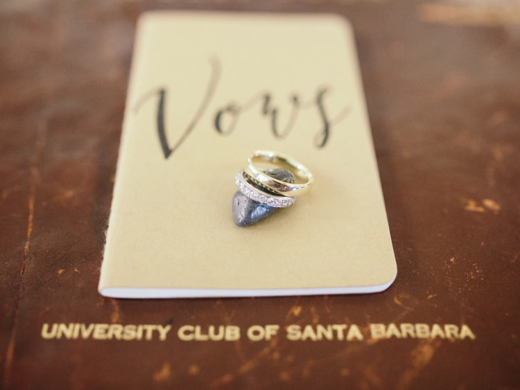 University Club Wedding | Wedding Vows and Rings