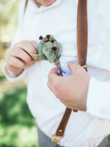 Boho Chic Sonora Wedding | Groom Style