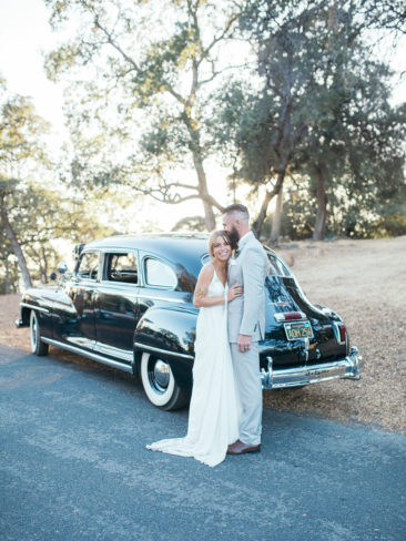 Boho Chic Sonora Wedding | Vintage Cadillac