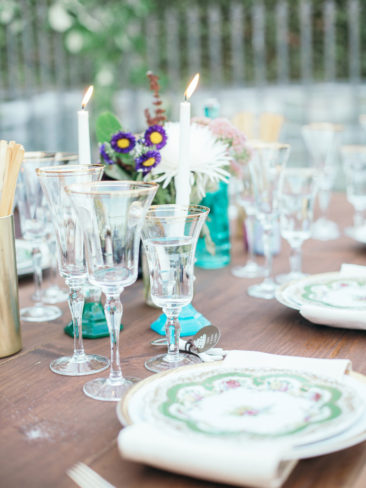 Boho Chic Sonora Wedding | Rustic Vintage Table Decor