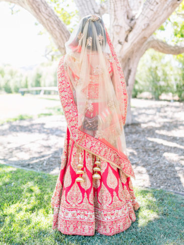 Indian Wedding at Greengate Ranch | Indian Bride with Henna
